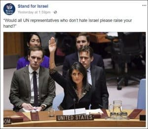 Nikki Haley veto in UN