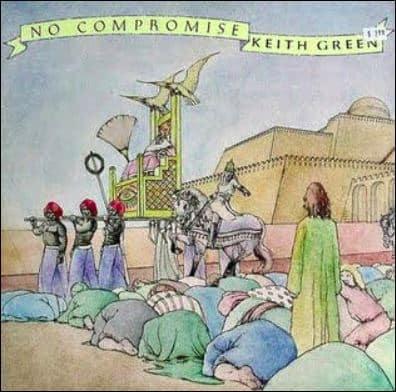 """""""No Compromise"""" music Album Cover"""
