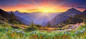 Heavenly Landscape