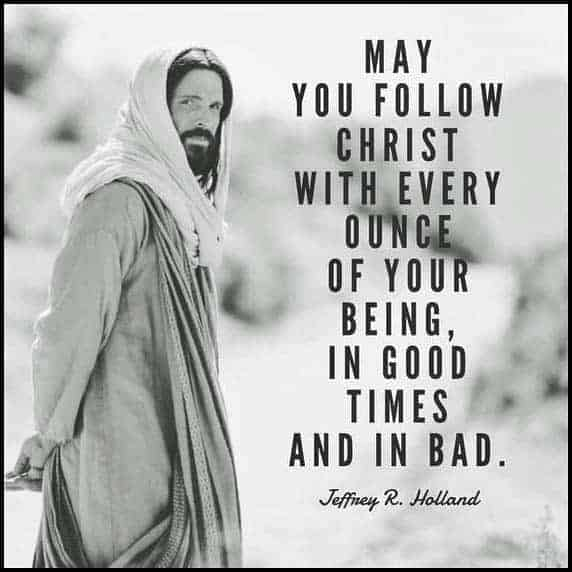 Stand Firm in Faith. Follow Christ.