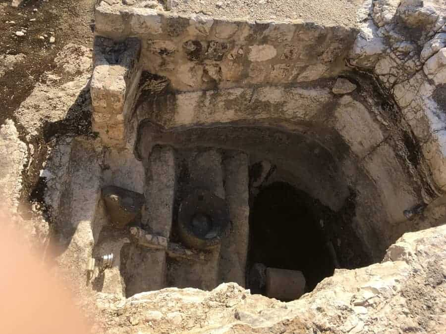Ancient Stepped Mikveh