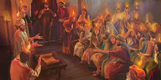 Early rain Pentecost