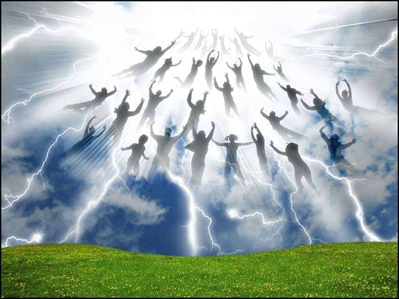 Sequence of End Times Events: the rapture and resurrection of saints
